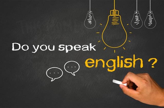 英語を話す時間