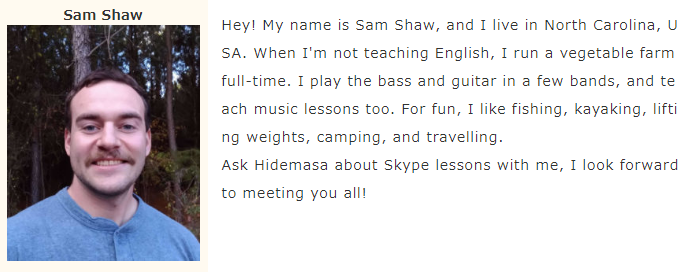 Sam Shaw先生